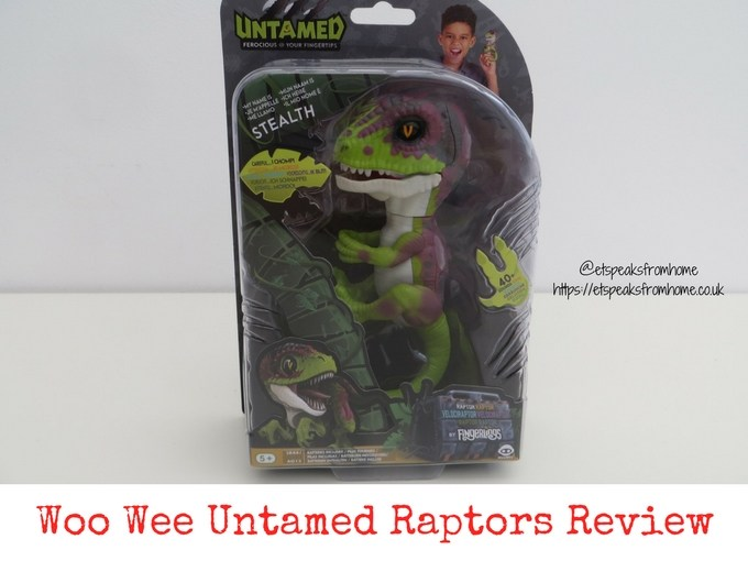 Woo Wee Untamed Raptors Review