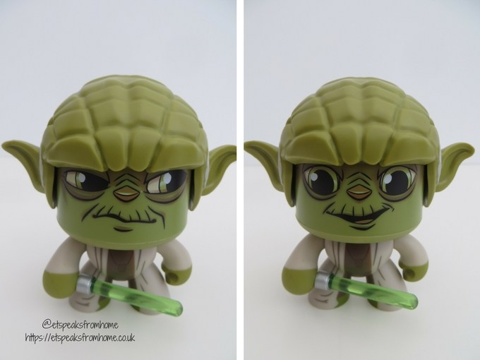 Mighty Muggs Yoda Star Wars Hasbro 2018 Version NEW in Stock #8