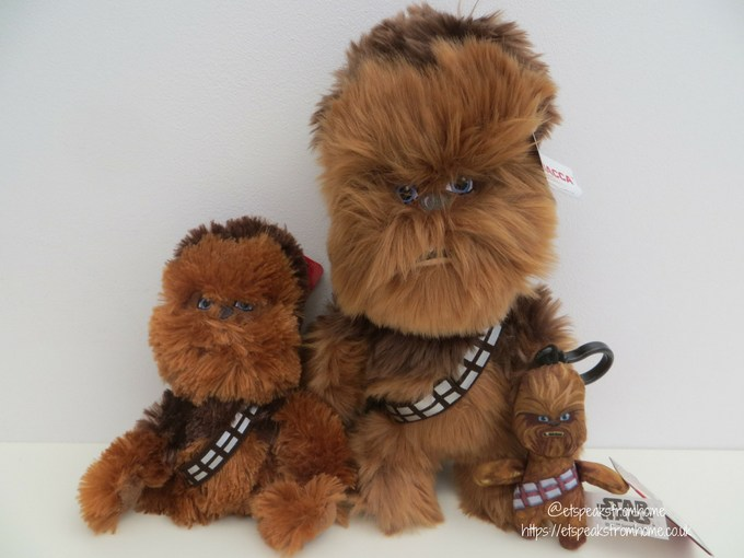 Posh Paws star wars plush collection Chewbacca