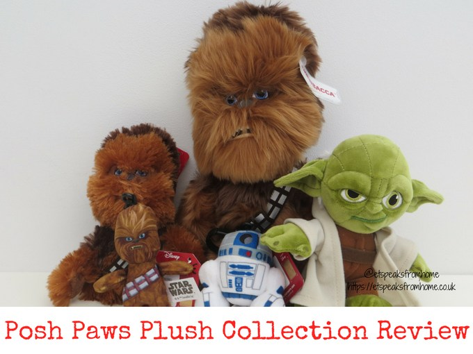 Posh Paws star wars plush collection Review