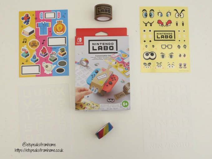nintendo labo toy-con customisation set