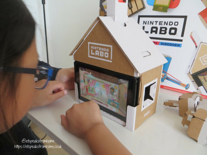 nintendo labo toy-con variety kit house