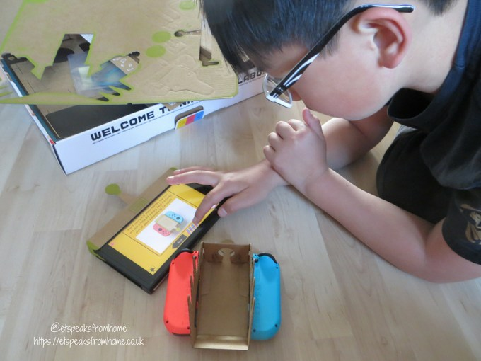 nintendo labo toy-con variety kit playing