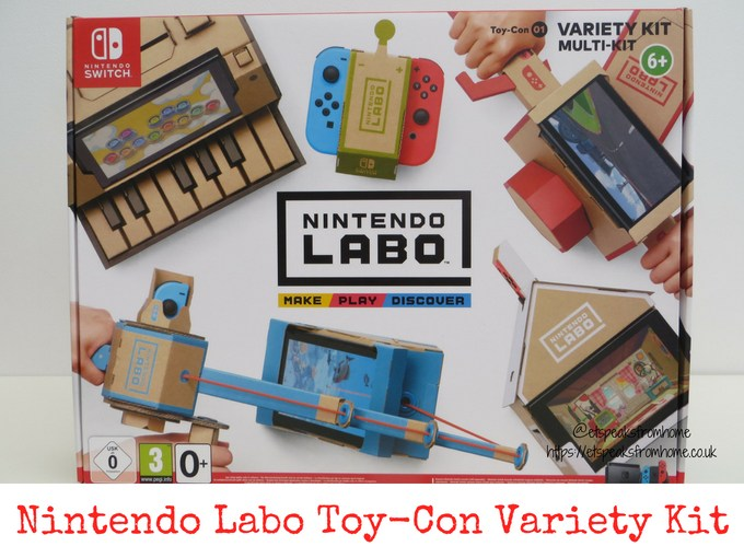 nintendo labo toy-con variety kit review