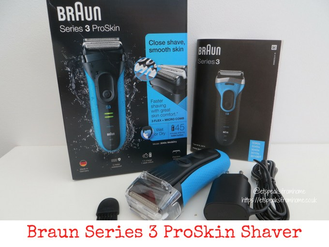 Braun Series 3 ProSkin Shaver review