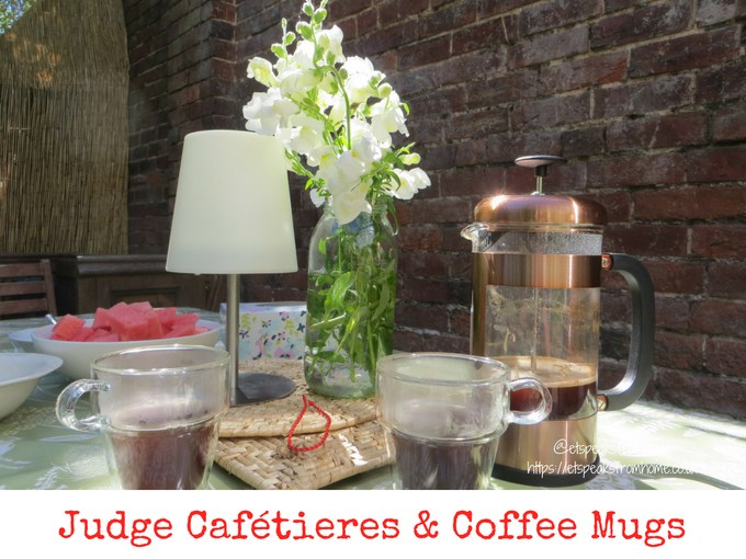 Judge Cafétieres & Double Walled Coffee Mugs Review