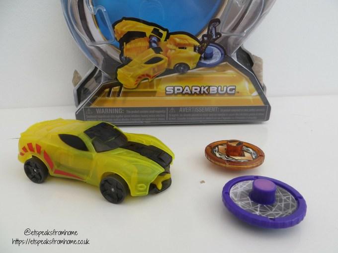 Screechers Wild Sparkbug review