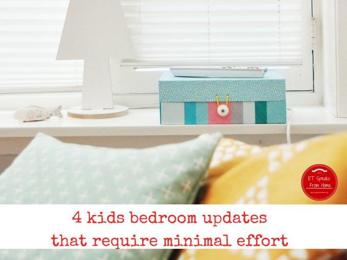 4 kids bedroom updates that require minimal effort
