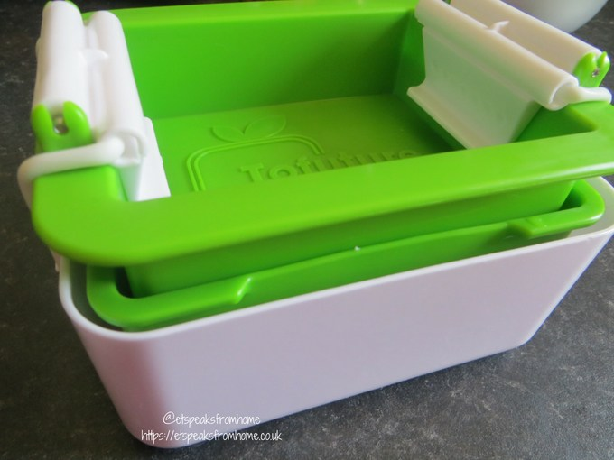 Tofuture Tofu Press container with lid
