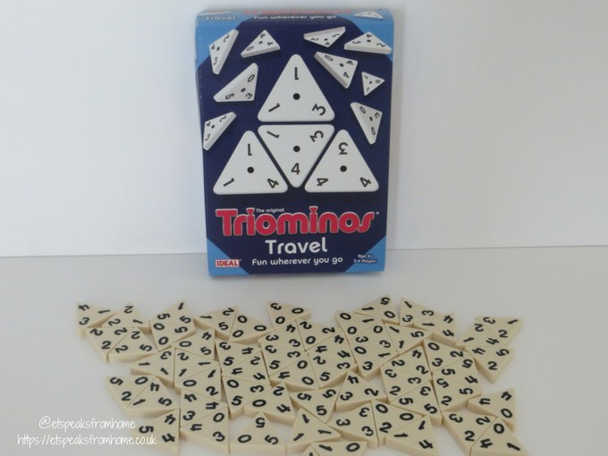 john adams travel games - triominos travel