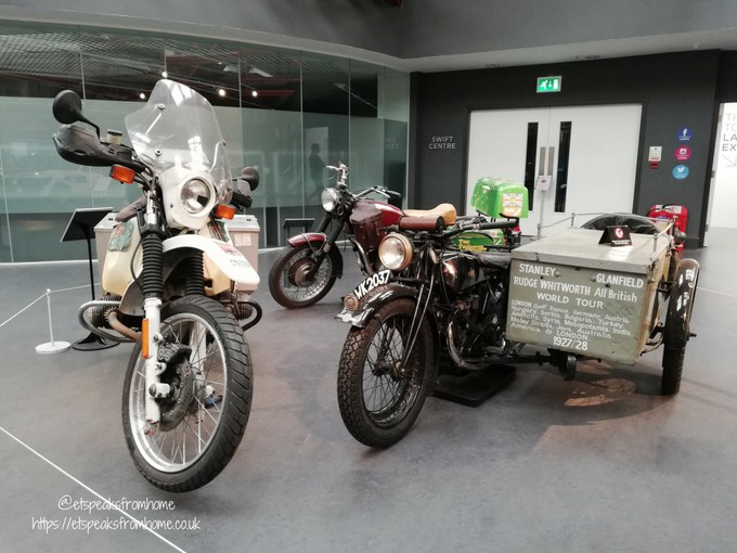 Coventry Transport Museum motorbike