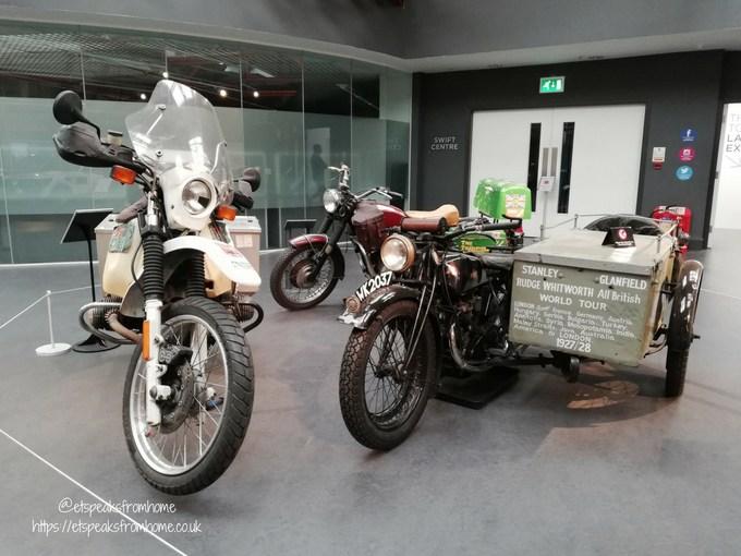 Coventry Transport Museum motorbike