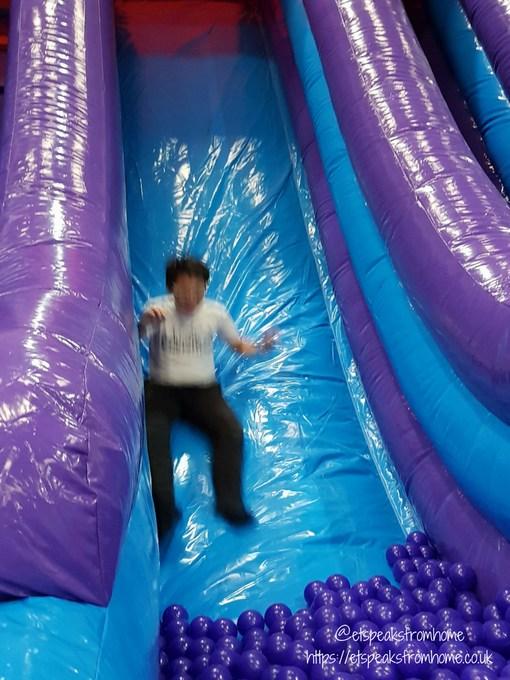 Inflata Nation Birmingham inflata slide
