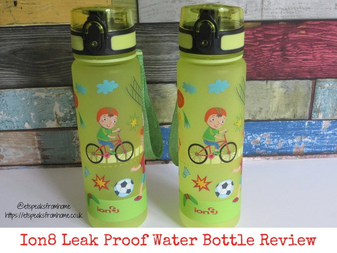 Ion8 leak proof Water Bottle review