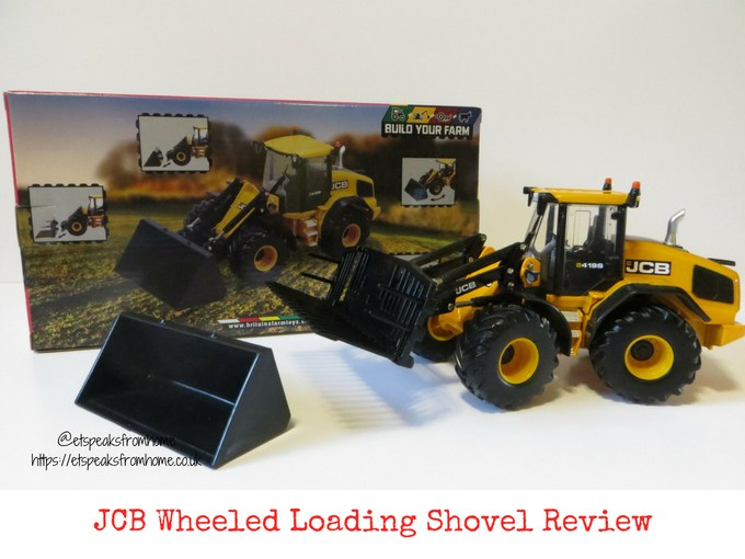 JCB Wheeled Loading Shovel Review