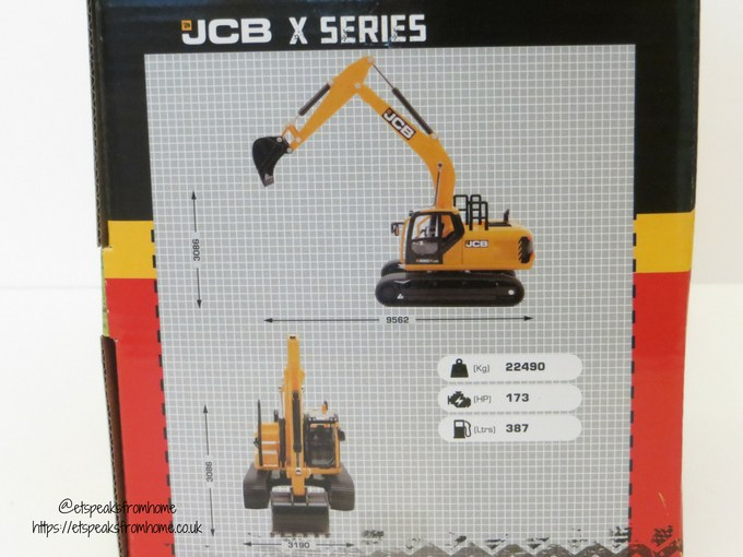 JCB X Series measurement