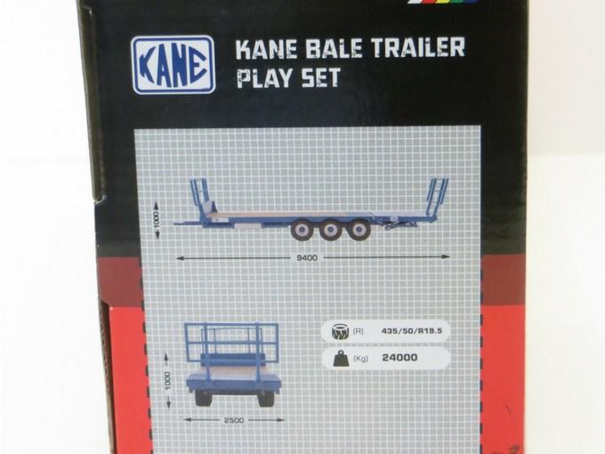 Kane Bale Trailer measurement