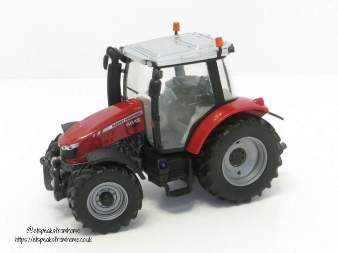 Massey Ferguson Tractor Playset side