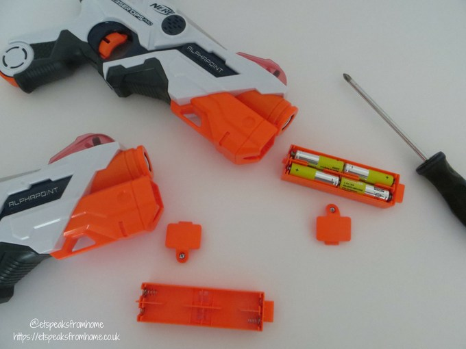 Nerf Laser Ops Pro batteriesq