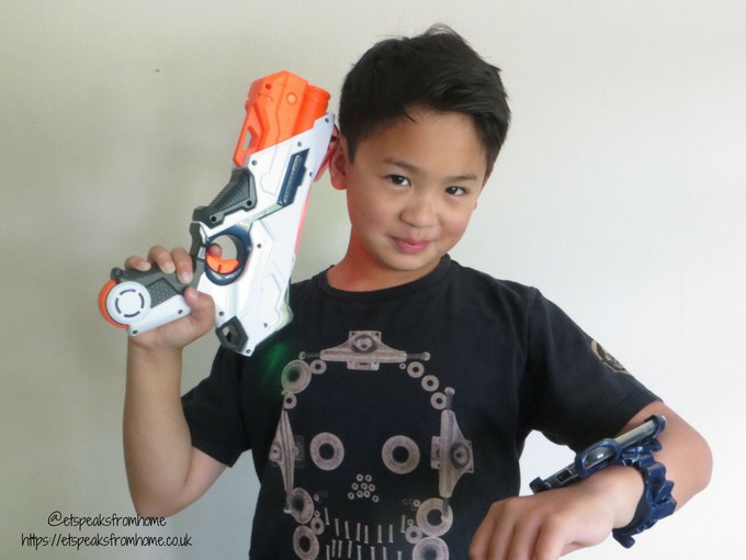Nerf Laser Ops Pro playing