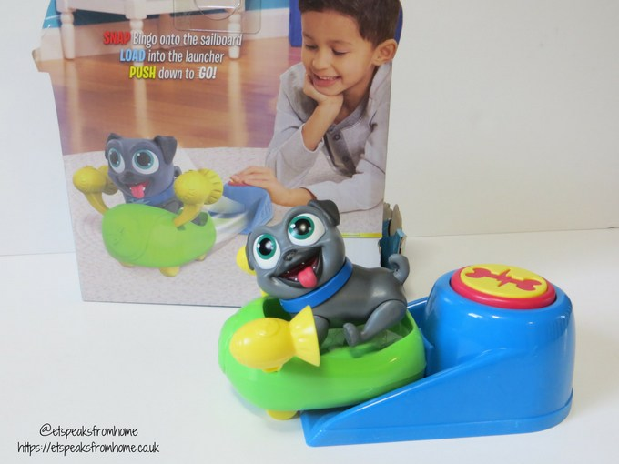 Puppy Dog Pals racing rocket bingo