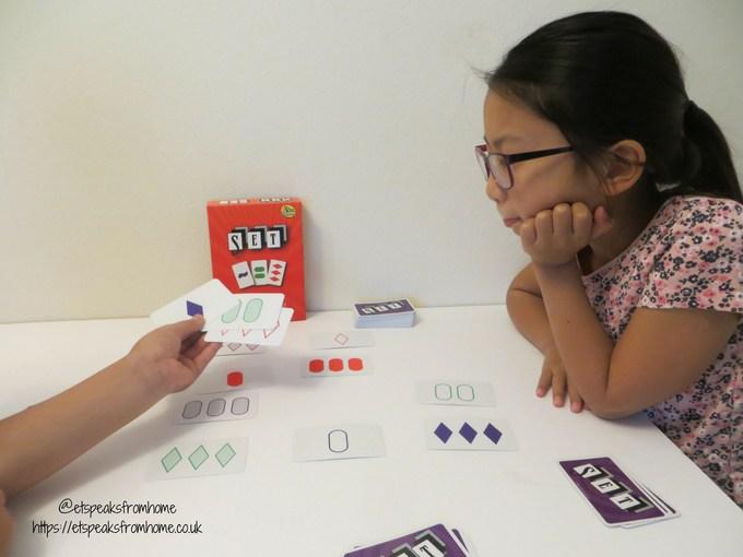 SET game playing