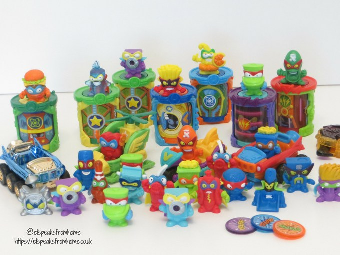 SuperZings series 2 collections