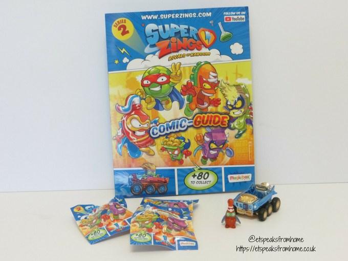 SuperZings series 2 starter pack