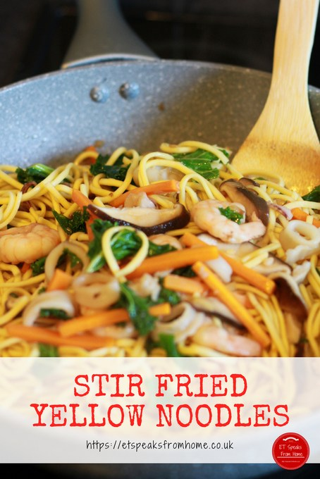 little foodies stir fried yellow noodles recipe