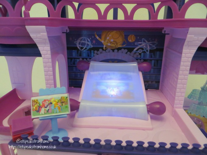 mlp Magical School of Friendship playset with scroll