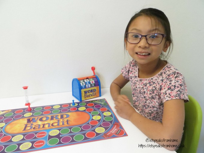 word bandit family game