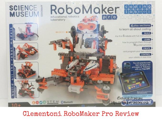 Clementoni RoboMaker Pro Review