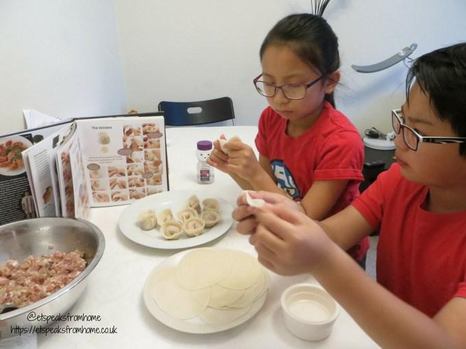 Gyoza The Ultimate Dumpling Cookbook with children