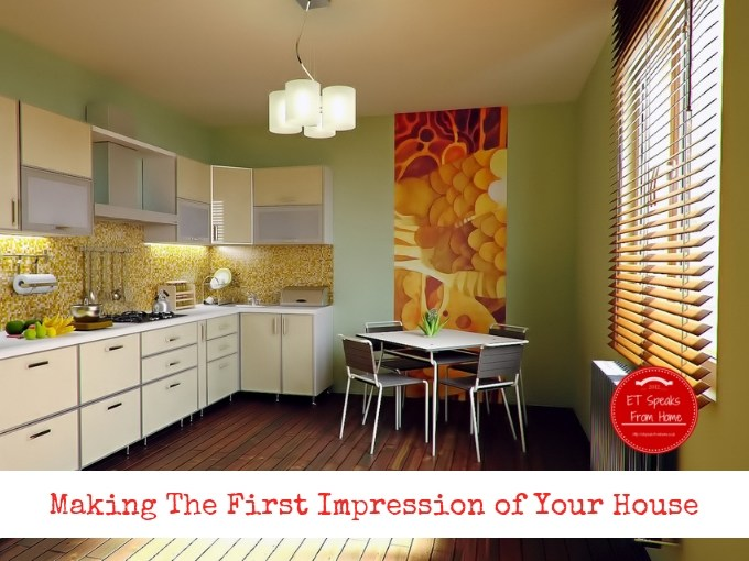 Making The First Impression of Your House