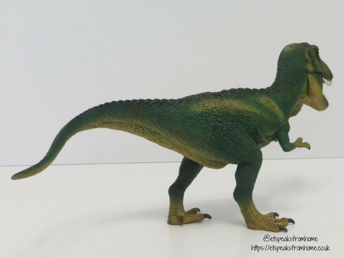 Schleich t-rex back