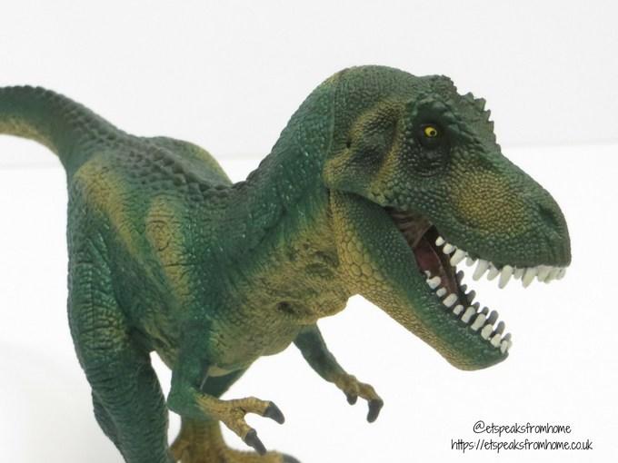 Schleich t-rex mouth