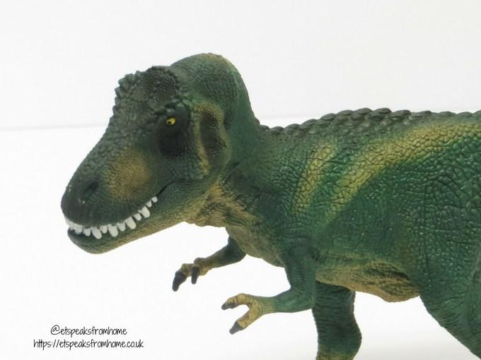 Schleich t-rex side