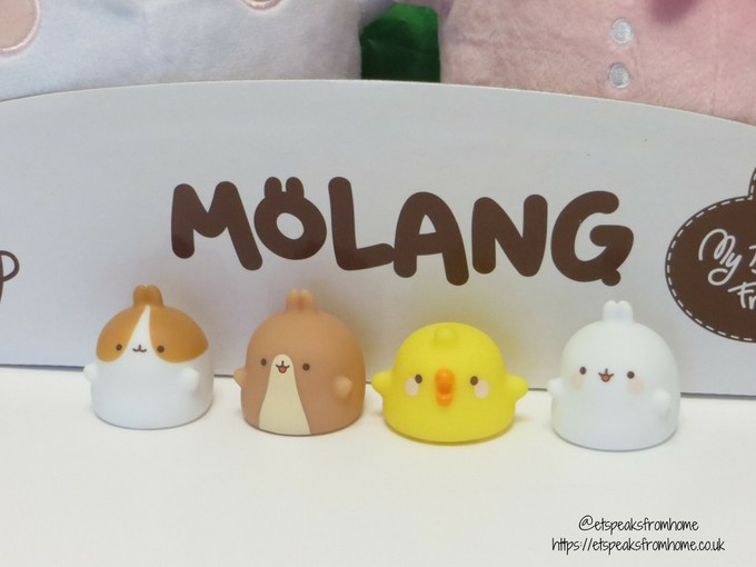 Tomy Molang Finger Figures review
