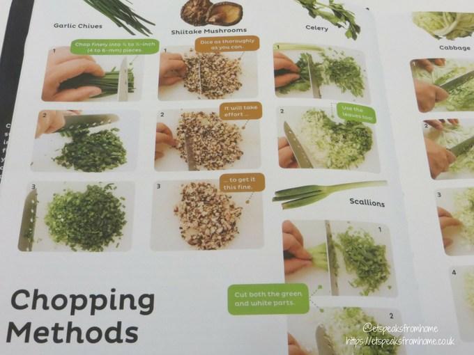 gyoza ultimate dumpling cookbook chopping method