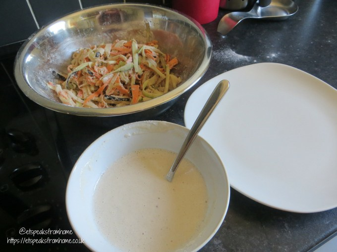 yachae twigim vegetable fritters batter
