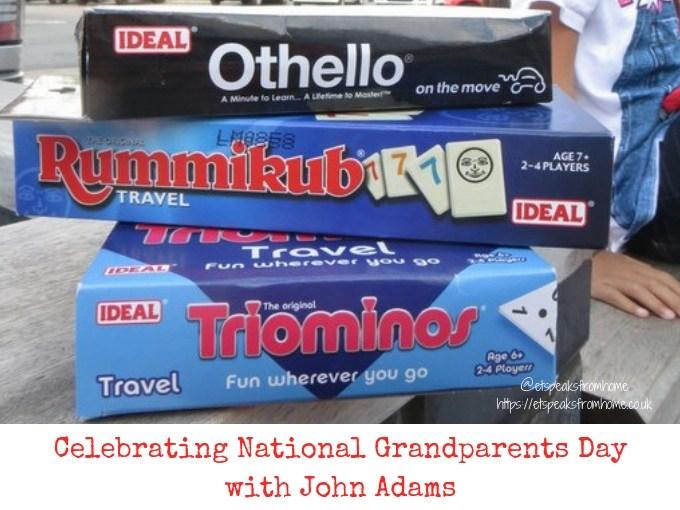 Celebrating National Grandparents Day with John Adams