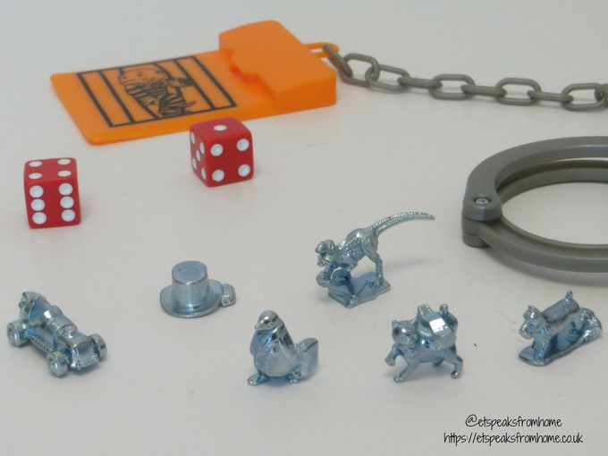 Monopoly cheaters edition playing pieces