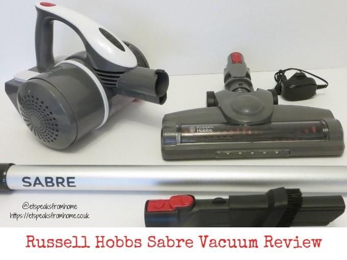 Russell Hobbs Sabre Vacuum Review