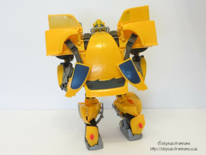 Transformers Power Charge BumbleBee back