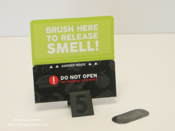 What's that Smell Review card