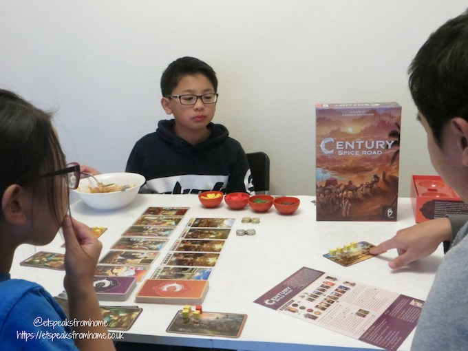 century spice road game playing