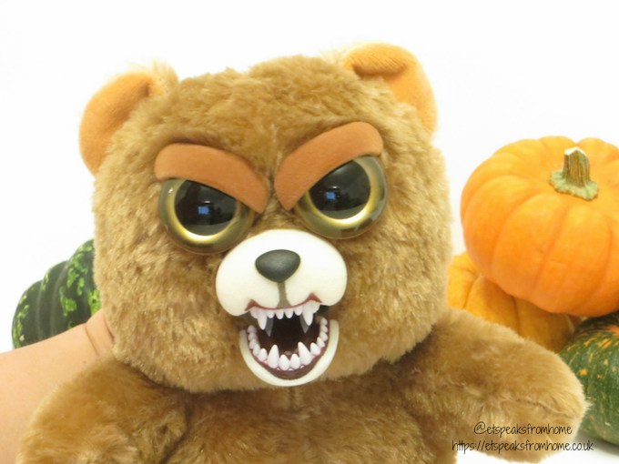 halloween with feisty pets sir growls-a-lot action