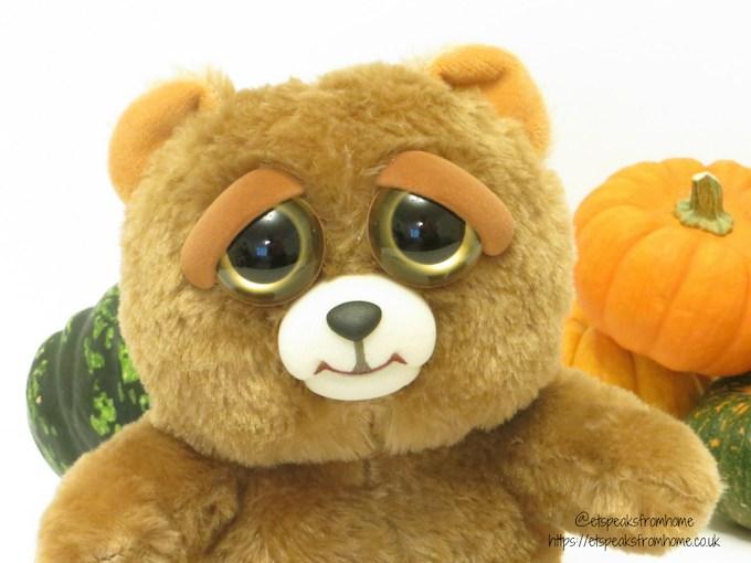 halloween with feisty pets sir growls-a-lot bear