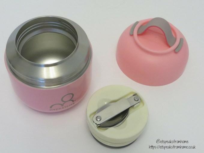 hydratem8 food pot pink