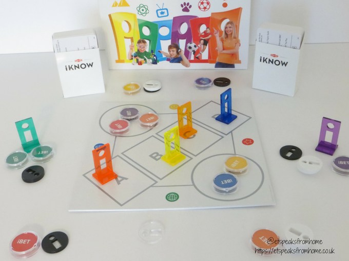 iKNOW Family Game set up